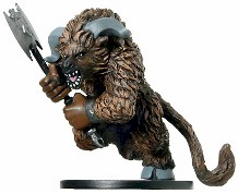 D&D Miniatures - Click to view the stats for Minotaur Miniature