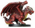 D&D Miniatures - Click to view the stats for Red Wyrmling Miniature