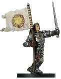 D&D Miniatures - Click to view the stats for Standardbearer Miniature