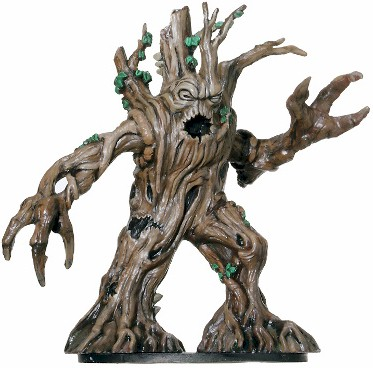 D&D Miniatures - Click to view the stats for Treant Miniature