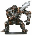 D&D Miniatures - Click to view the stats for Warforged Fighter Miniature