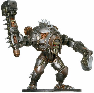 D&D Miniatures - Click to view the stats for Warforged Titan Miniature