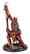 D&D Miniatures - Click to view the stats for Bearded Devil Miniature
