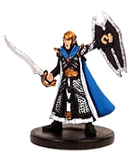 D&D Miniatures - Click to view the stats for Cleric of Corellon Larethian Miniature