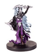 D&D Miniatures - Click to view the stats for Drow Cleric of Lolth Miniature