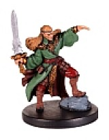 D&D Miniatures - Click to view the stats for Elf Pyromancer Miniature