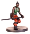 D&D Miniatures - Click to view the stats for Ember, Human Monk Miniature