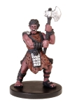 D&D Miniatures - Click to view the stats for Krusk, Half-Orc Barbarian Miniature