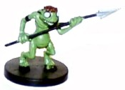 D&D Miniatures - Click to view the stats for Kuo-Toa Miniature