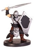 D&D Miniatures - Click to view the stats for Man-at-Arms Miniature