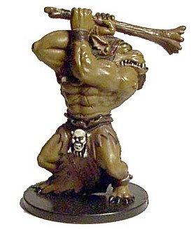 D&D Miniatures - Click to view the stats for Ogre Miniature