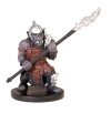 D&D Miniatures - Click to view the stats for Orc Spearfighter Miniature