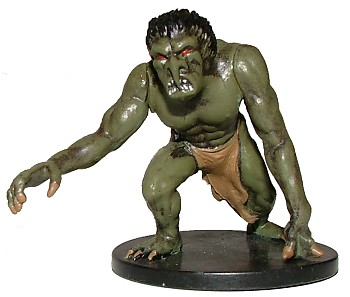 D&D Miniatures - Click to view the stats for Troll Miniature