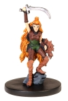 D&D Miniatures - Click to view the stats for Vadania, Half-Elf Druid Miniature