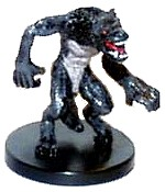 D&D Miniatures - Click to view the stats for Werewolf Miniature
