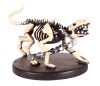 D&D Miniatures - Click to view the stats for Wolf Skeleton Miniature