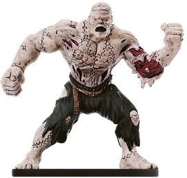 D&D Miniatures - Click to view the stats for Berserk Flesh Golem Miniature