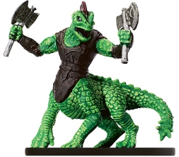 D&D Miniatures - Click to view the stats for Dracotaur Rager Miniature