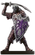 D&D Miniatures - Click to view the stats for Drow Enforcer Miniature