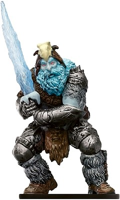 D&D Miniatures - Click to view the stats for Frost Giant Jarl Miniature