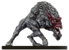 D&D Miniatures - Click to view the stats for Greater Barghest Miniature