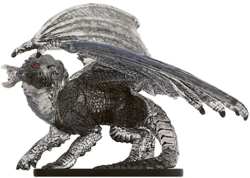 D&D Miniatures - Click to view the stats for Large Shadow Dragon Miniature