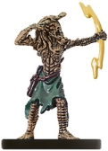 D&D Miniatures - Click to view the stats for Medusa Archer Miniature