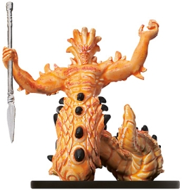 D&D Miniatures - Click to view the stats for Noble Salamander Miniature