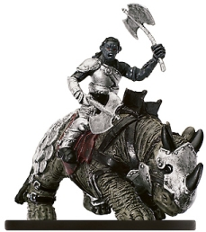 D&D Miniatures - Click to view the stats for Orc Banebreak Rider Miniature