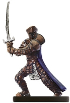 D&D Miniatures - Click to view the stats for Shadowbane Inquisitor Miniature
