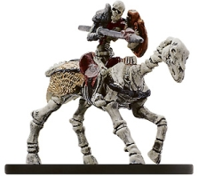 D&D Miniatures - Click to view the stats for Skeletal Courser Miniature