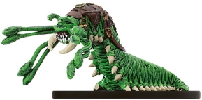D&D Miniatures - Click to view the stats for Trained Carrion Crawler Miniature