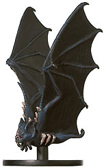 D&D Miniatures - Click to view the stats for Dire Bat Miniature