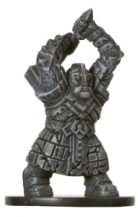 D&D Miniatures - Click to view the stats for Dwarf Ancestor Miniature