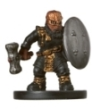 D&D Miniatures - Click to view the stats for Gold Dwarf Soldier Miniature
