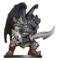 D&D Miniatures - Click to view the stats for Half-Fiend Ogre Miniature