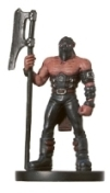D&D Miniatures - Click to view the stats for Half-Orc Executioner Miniature