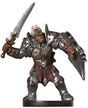D&D Miniatures - Click to view the stats for Half-Orc Paladin Miniature