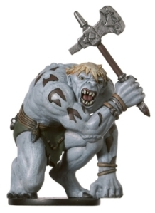D&D Miniatures - Click to view the stats for Hunched Giant Miniature