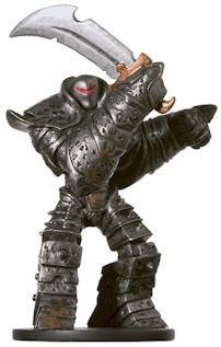 D&D Miniatures - Click to view the stats for Iron Golem Miniature