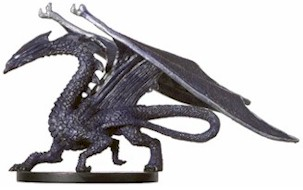 D&D Miniatures - Click to view the stats for Large Deep Dragon Miniature