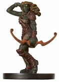 D&D Miniatures - Click to view the stats for Nentyar Hunter Miniature