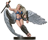 D&D Miniatures - Click to view the stats for Rikka, Angelic Avenger Miniature