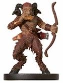 D&D Miniatures - Click to view the stats for Satyr Miniature