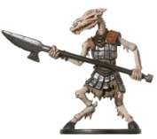 D&D Miniatures - Click to view the stats for Skeletal Equiceph Miniature