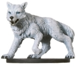 D&D Miniatures - Click to view the stats for Winter Wolf Miniature