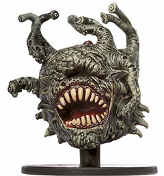 D&D Miniatures - Click to view the stats for Beholder Lich Miniature