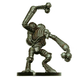 D&D Miniatures - Click to view the stats for Blood Golem of Hextor Miniature