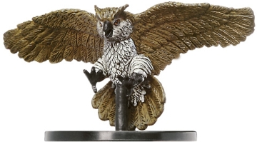 D&D Miniatures - Click to view the stats for Celestial Giant Owl Miniature