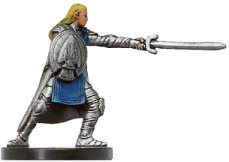 D&D Miniatures - Click to view the stats for Devotee of the Silver Flame Miniature
